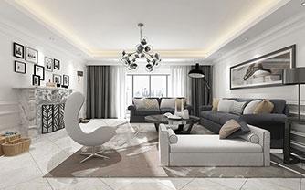 客厅又一道靓丽的风景 时尚的间厅
