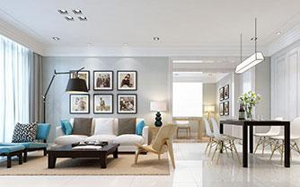 畅享悠闲时光 80平白色小户型公寓