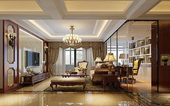 高贵与典雅并存的温馨家园