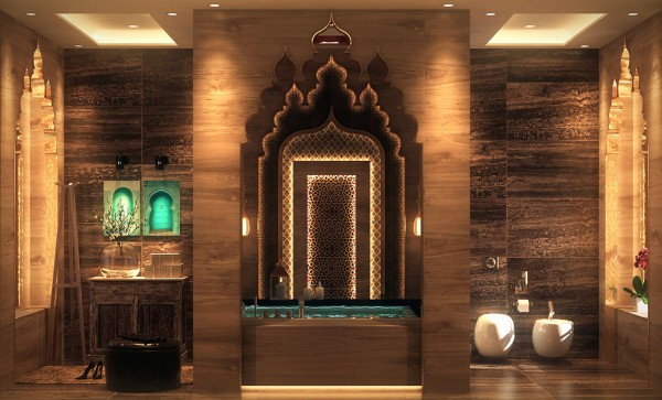 豪华浴室设计