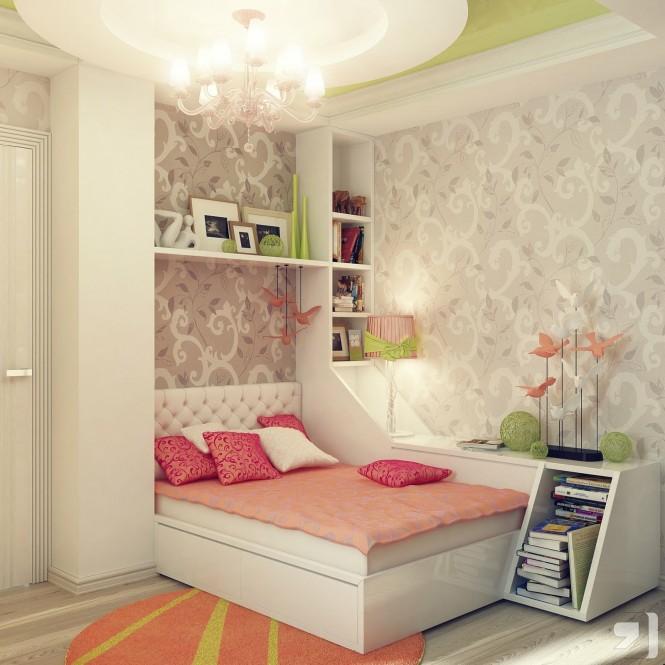 糖果色卧室