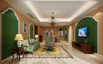 绿色主题元素的现代家居设计