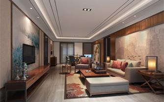 舒适的日式家居设计效果图