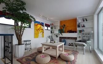 东南亚风格一居室室内设计效果图