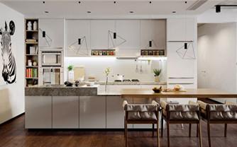 简约质感三居室装修设计