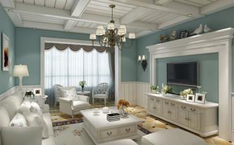 美式两居室温馨设计