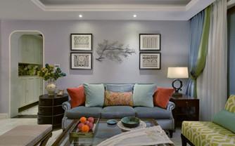 三居室美式装修效果图