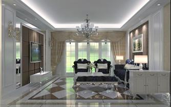 三居室简欧式装修效果图