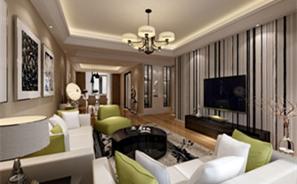 新风格两居室简约设计