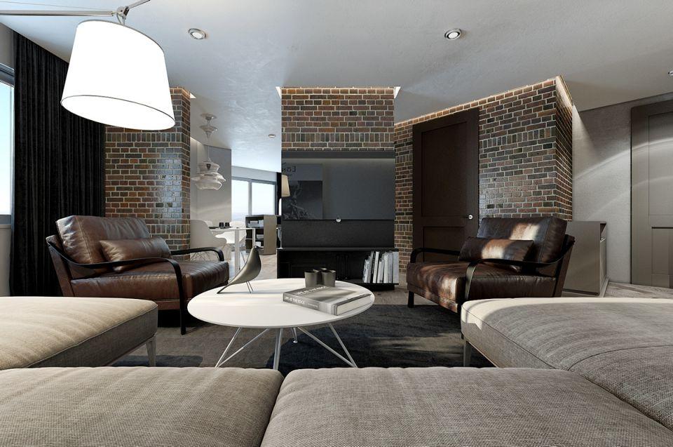 简约现代四居室