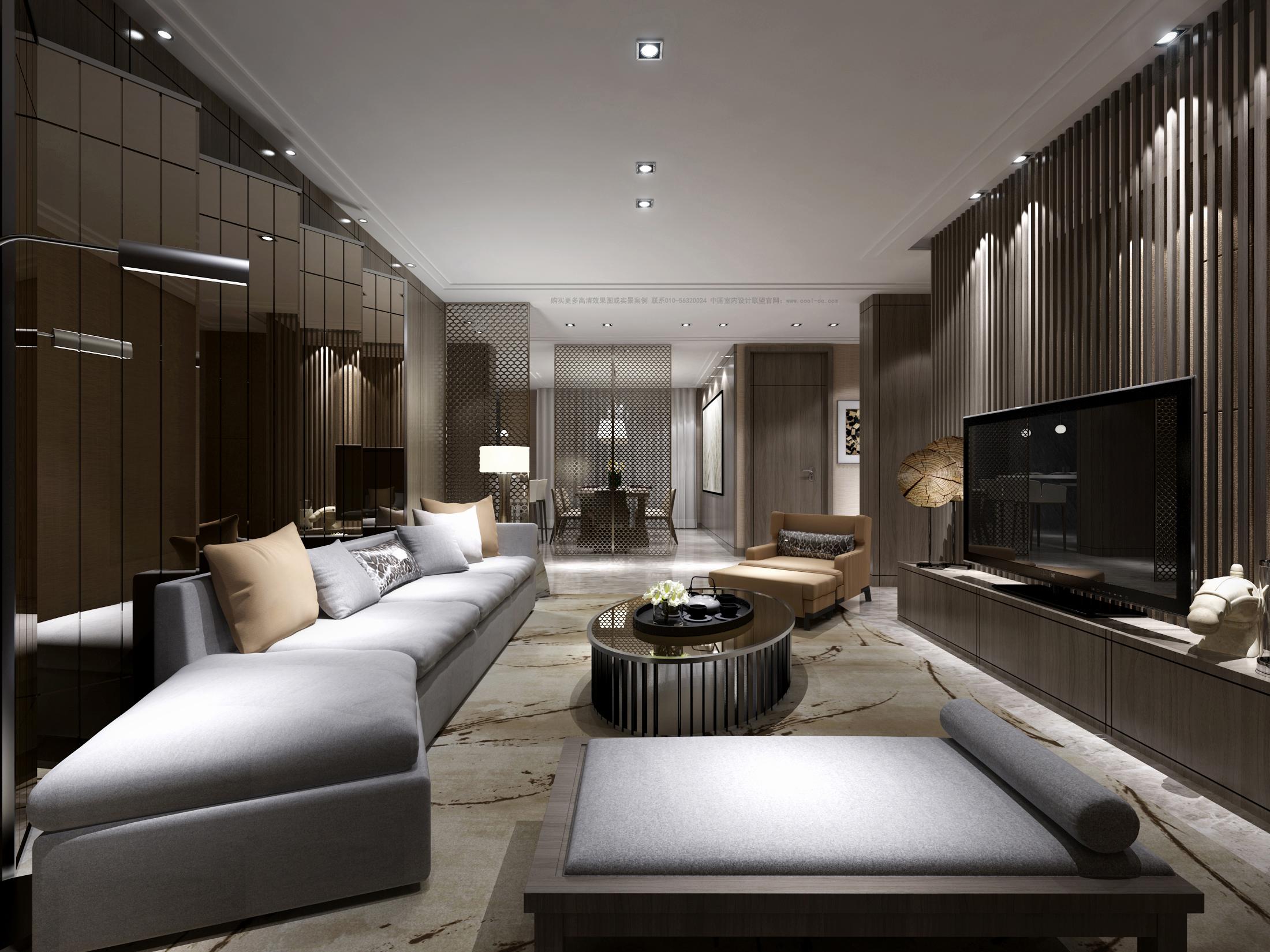 别墅新中式现代风格