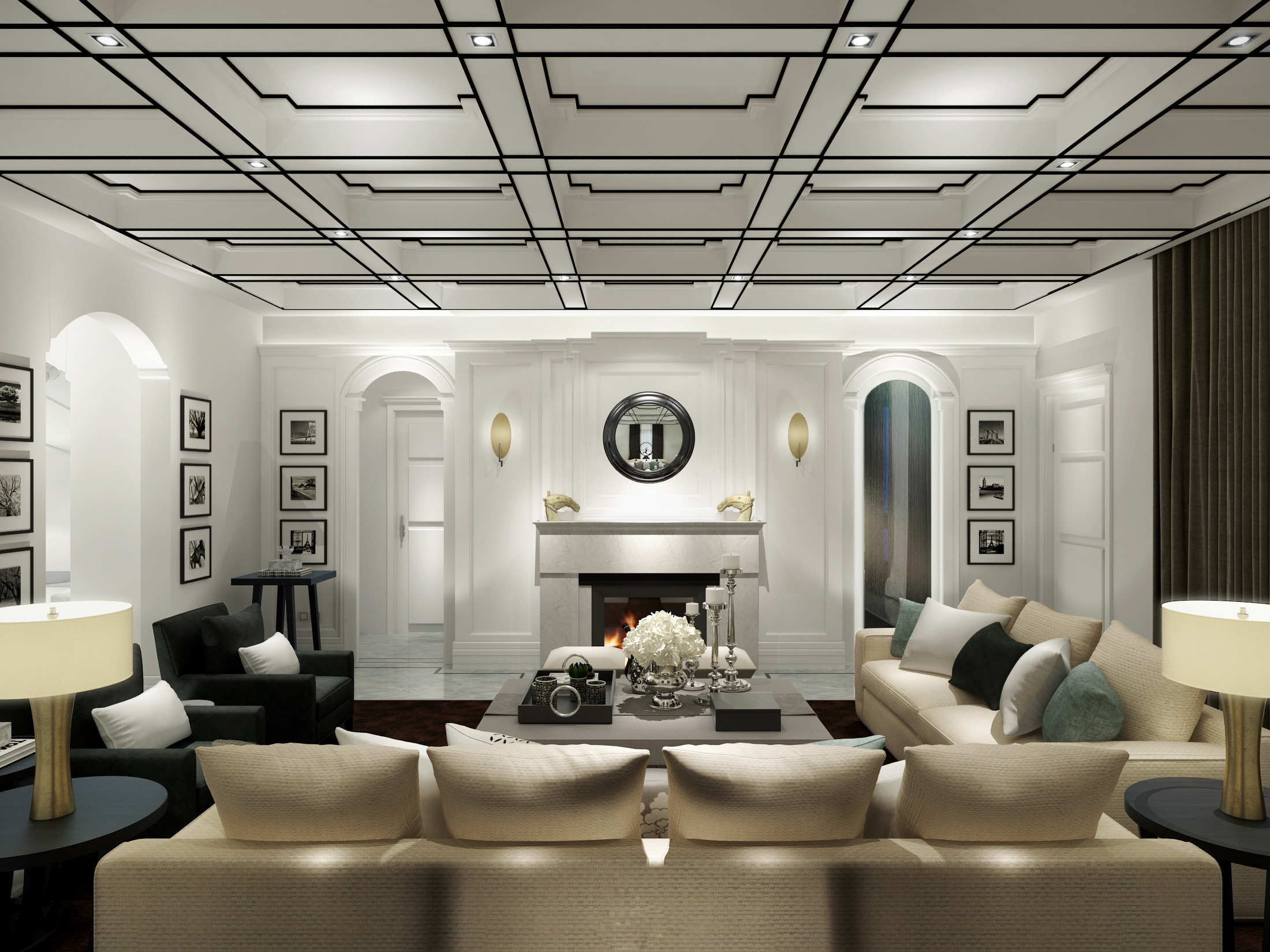 别墅新古典装修风格