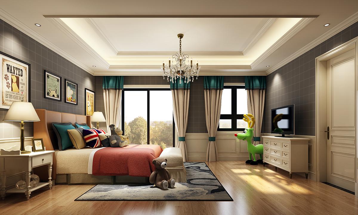深圳装修网-黄色和绿色结合的欧式风格