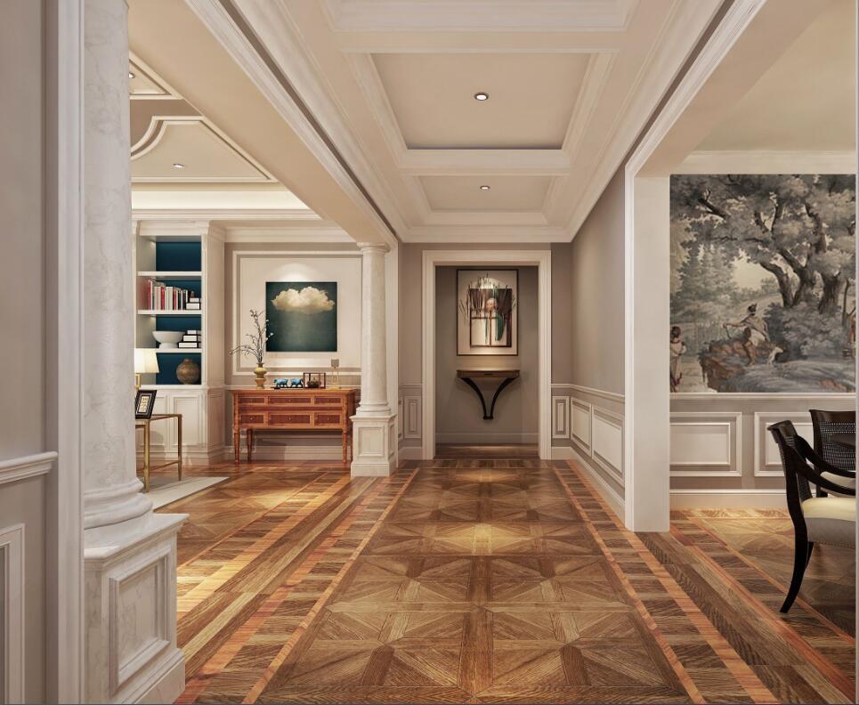 最新易迅彩票手机版登录别墅装修公司-白色美式别墅