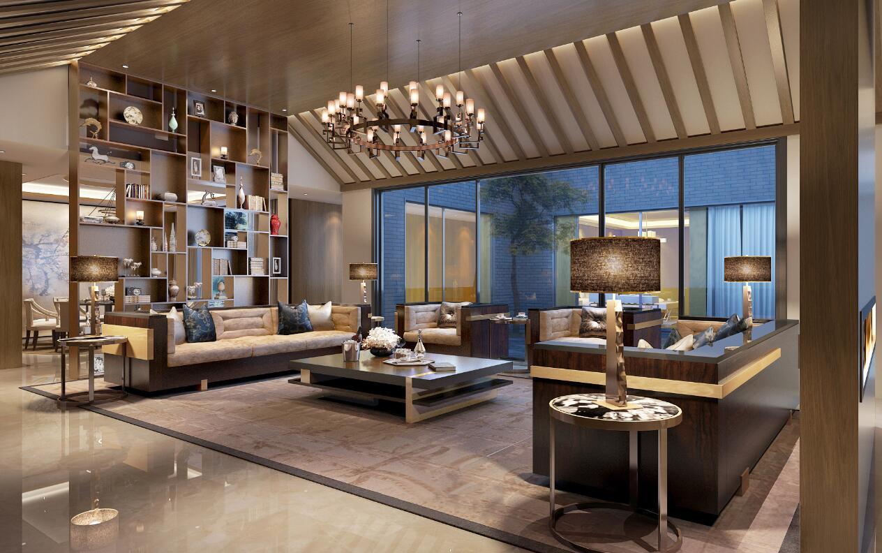 新中式豪华别墅