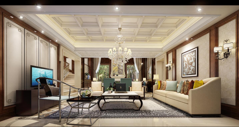 别墅金碧辉煌欧式风格